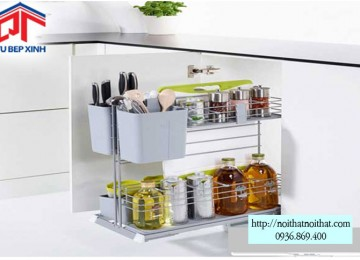 Bộ rổ kéo Cooking Agent - 549.24.952