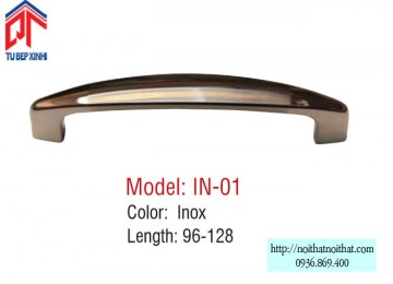 Tay nắm tủ bếp Inox - IN 01