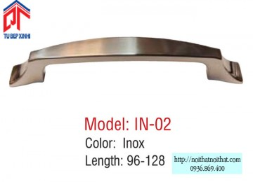 Tay nắm tủ bếp Inox - IN 02