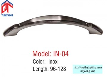 Tay nắm tủ bếp Inox - IN 04
