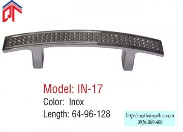 Tay nắm tủ bếp Inox - IN 17